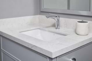 What Are The Pros And Cons Of Quartz And Cultured Marble Countertops Custom Home Builders Schumacher Homes